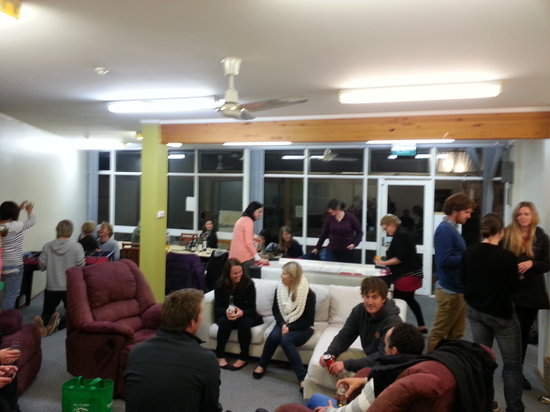 The Burnie Backpackers : Our large common area