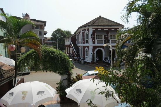 WelcomHeritage Panjim Peoples: the view of Peoples from the Inn