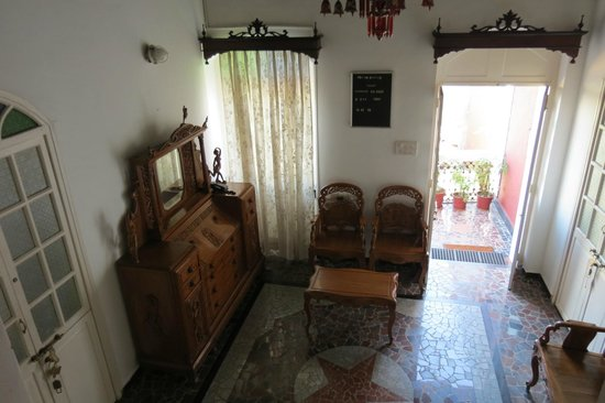 WelcomHeritage Panjim Peoples: just outside our room