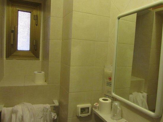 Hotel Marechiaro: Санузел