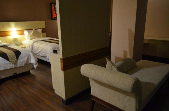 Hotel California Bandung: Comfy bed
