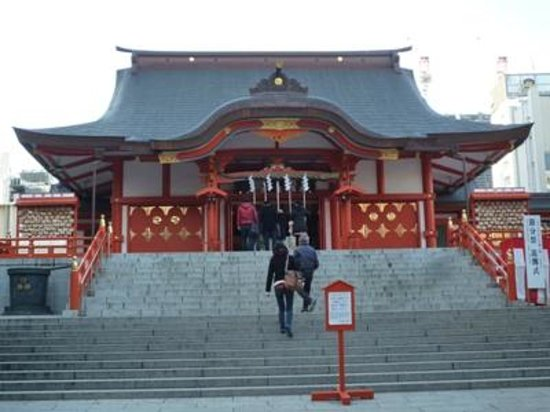 Hanazono Shrine: 04花園神社 拝殿