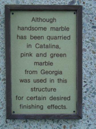 Stone Sign Picture Of Wrigley Memorial Botanic Garden Avalon Tripadvisor