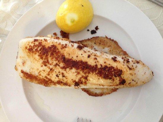 Antica Trattoria Da Pino: Calamaro arrosto