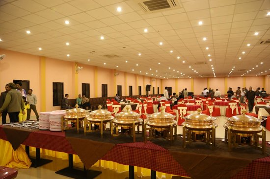 banquet hall picture of hotel seven star chitwan. Black Bedroom Furniture Sets. Home Design Ideas