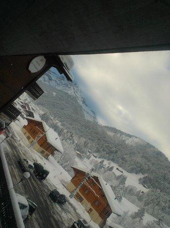 Hotel Le Chamois: Aussicht aus Zimmer