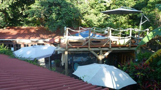 Mantis & Moon Backpackers Lodge: sundeck