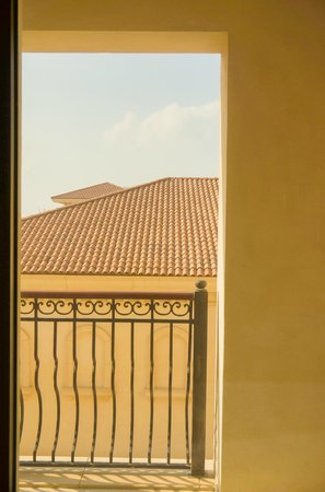The St. Regis Saadiyat Island Resort: View from my room, not so nice to say the least