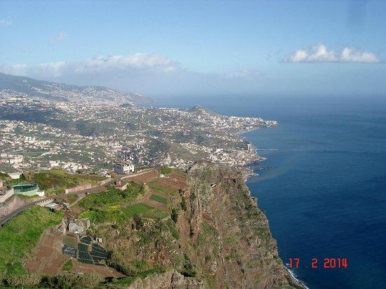View fm Cabo Girao