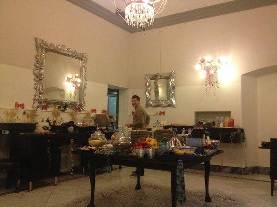 Borghese Palace Art Hotel: Desayuno