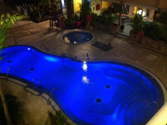 Hotel Costa Caleta : Pool from our room