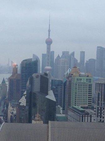 Le Royal Meridien Shanghai: Vista dalla stanza