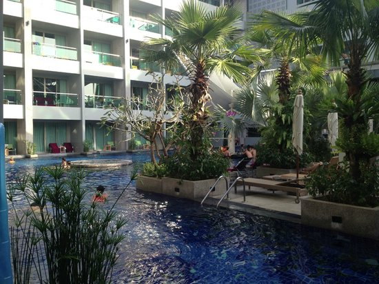 The KEE Resort & Spa: from our terrace
