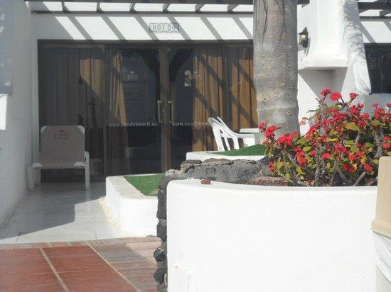 Sands Beach Resort: front view of studio apartment
