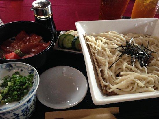Maya Sayang Restaurant : 稲庭うどん定食