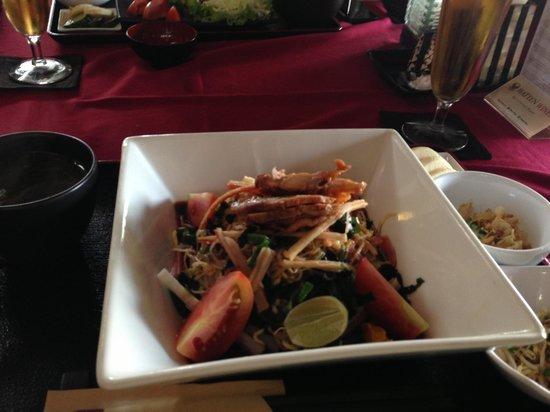 Maya Sayang Restaurant : 冷やし中華
