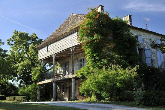 Moulin de Labique : La maison principale