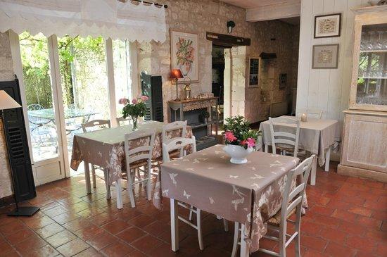Moulin de Labique : La salle a manger