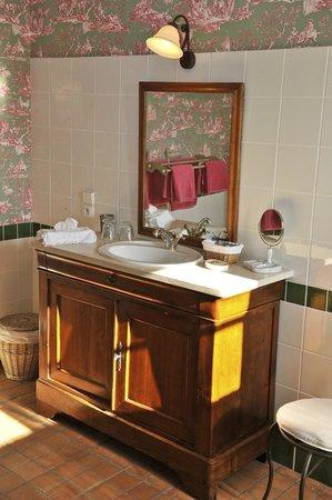 Moulin de Labique : Tilleul salle de bain