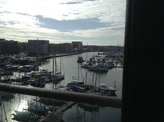 Salthouse Harbour Hotel: view from the room 2
