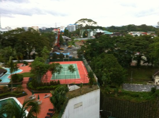 Hilton Kuching : room without riverview