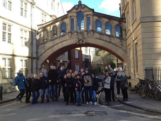 Footprints Tours Oxford: Group Photo