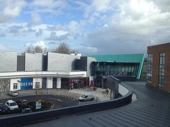 Premier Inn Trowbridge Hotel: The cinema
