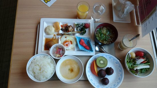 Tateshina Grand Hotel Takinoyu: 朝食バイキング