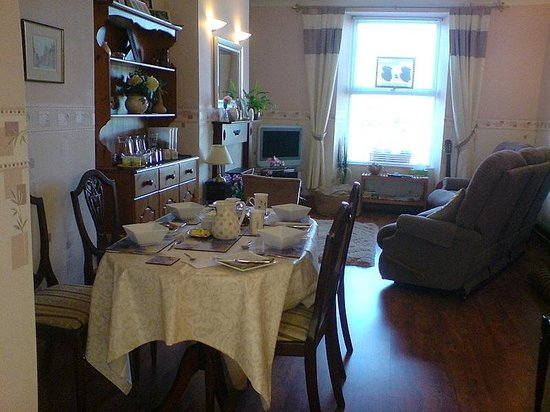 Mountain View B & B: Your breakfast room