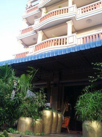 The Siem Reap Amigo Villa : Building