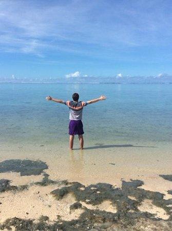 Shangri-La's Fijian Resort & Spa: just outside our room