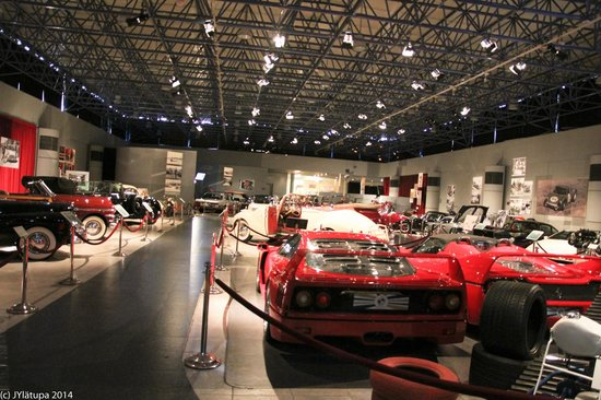 Königliches Automobilmuseum: General view