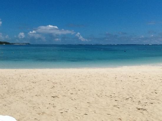 LUX* Belle Mare: la plage de l'hotel