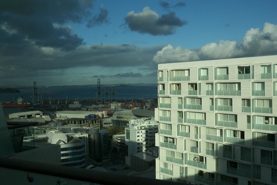 Pullman Auckland : View from top floor bedroom.