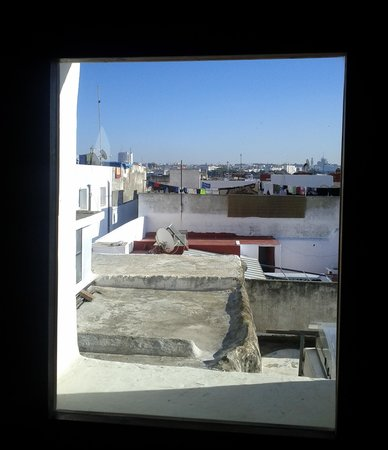 Riad Azahra : The view from the room window
