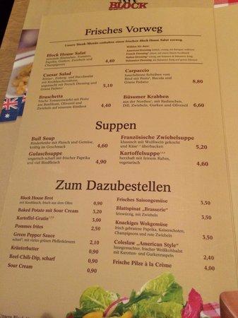 Block House Frankfurt Europa Allee Restaurant Reviews Phone