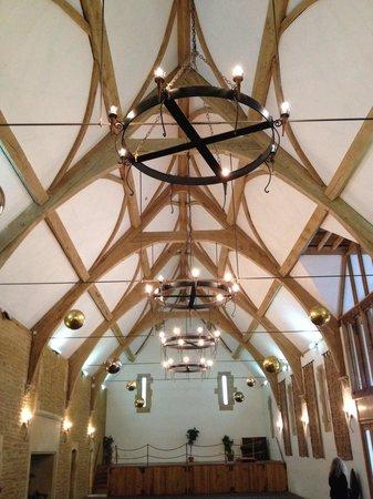 Haselbury Mill: The tithe barn - a new build themed hall for weddings etc.