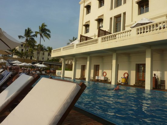 Galle Face Hotel Colombo : Huge pool (saltwater)