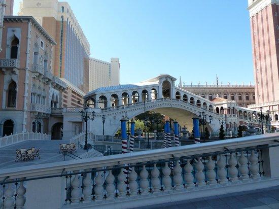 The Venetian Las Vegas : L'extérieur de l'hôtel