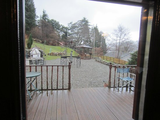 Briar Cottages: The view from the door