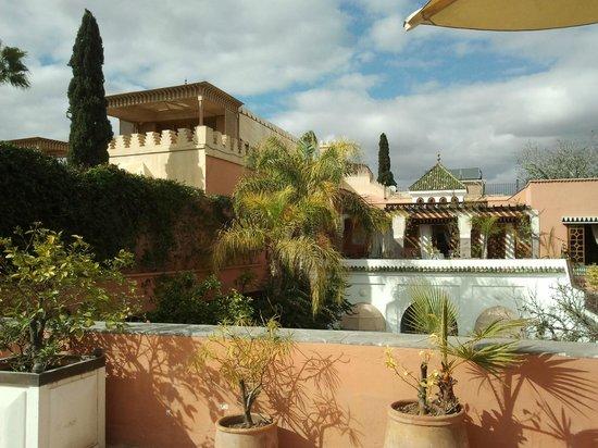 Palais Donab: Vue de la terrasse
