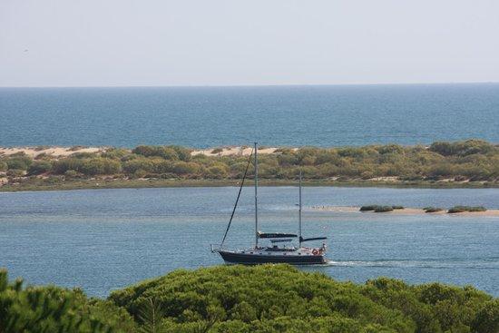 Playacartaya Spa Hotel: vistas al despertar