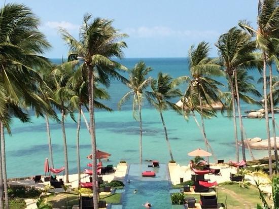 Kupu Kupu Phangan Beach Villas and Spa by l'Occitane : vue de l hotel