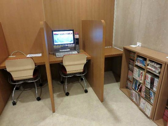 Smile Hotel Hakodate: 3 A棟一階の有料PCコーナー