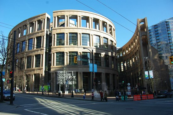 Vancouver Public Library (Central Library Branch) : Vancouver Library