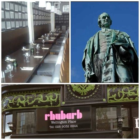 Rhubarb Wellington Place: Rhubarb