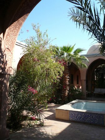 """Al Moudira Hotel: Les """"couloirs"""" de l'hôtel"""