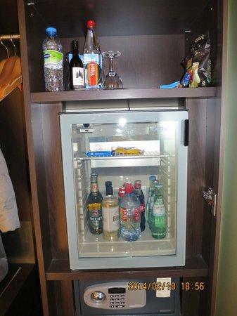 NH Stuttgart Airport: 冷蔵庫有り。