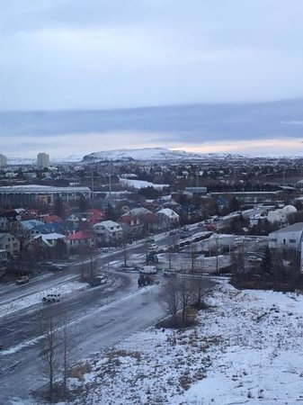 Grand Hotel Reykjavik: our room view,,