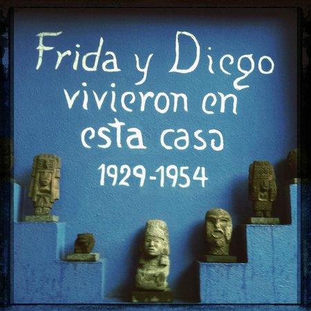 Musée Frida Kahlo : Khalo y Rivera